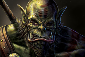 orc warrior wow world of warcraft fan art concept art
