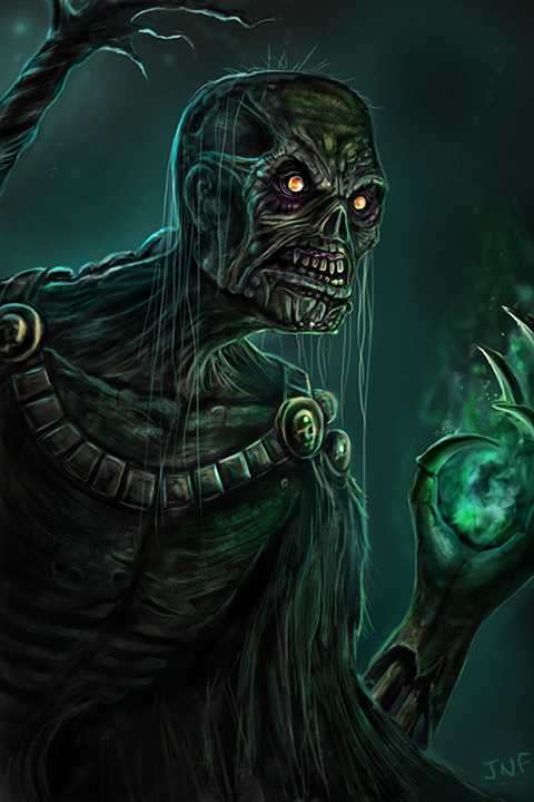 WOW undead warlock world of warcraft fan art concept art