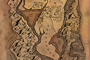 fantasy-map-cartography-sepia-tones-tolkien-inspired-art