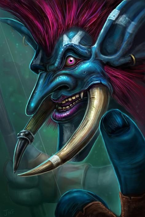 troll-hunter-wow-fan-art-digital-art-world-of-warcraft