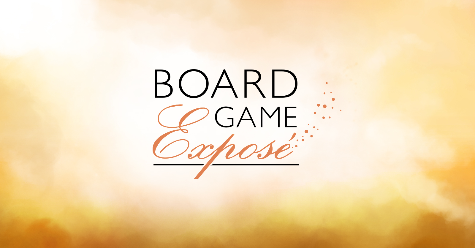 Board game exposure logo design, icons and graphic design