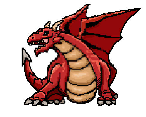 pixel art dragon game artist pixel artist