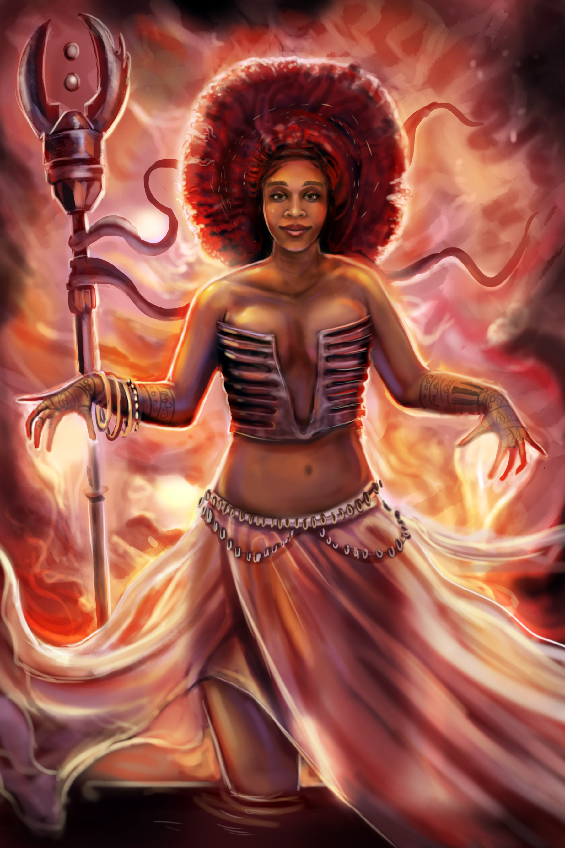 Nigerian mage, wizard
