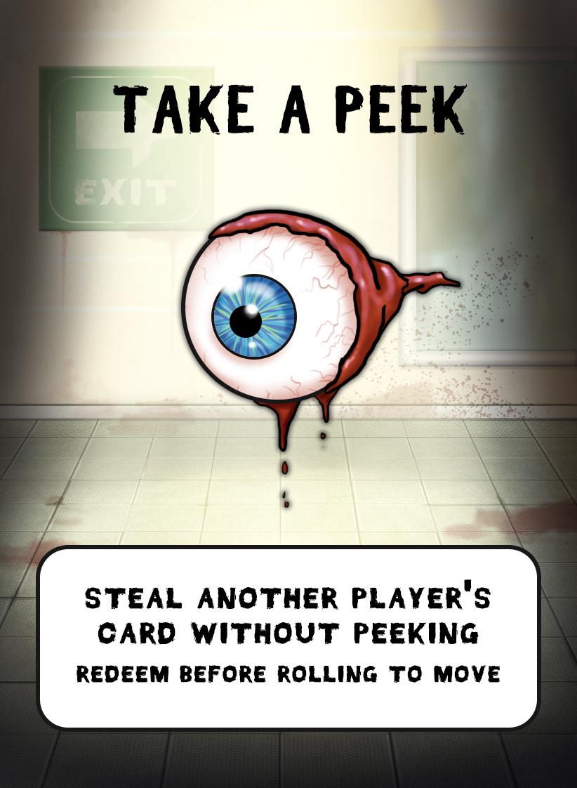 eyeball card design