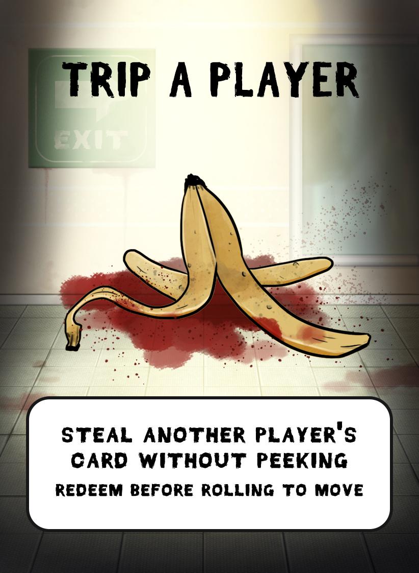 banana skin zombie