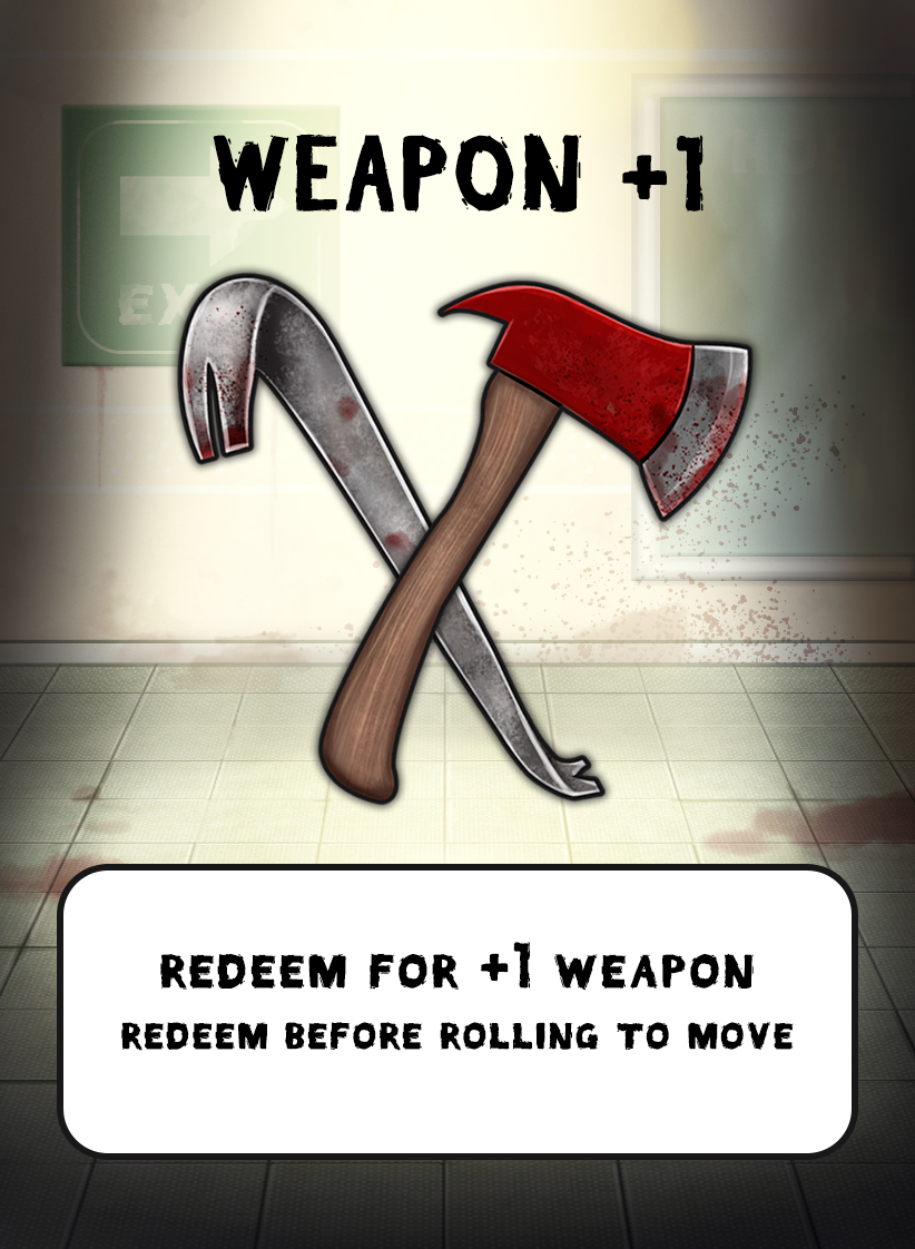 zombie weapons cards