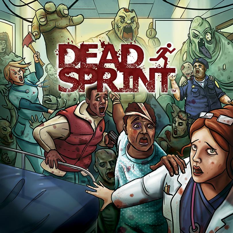 dead sprint board game box cover