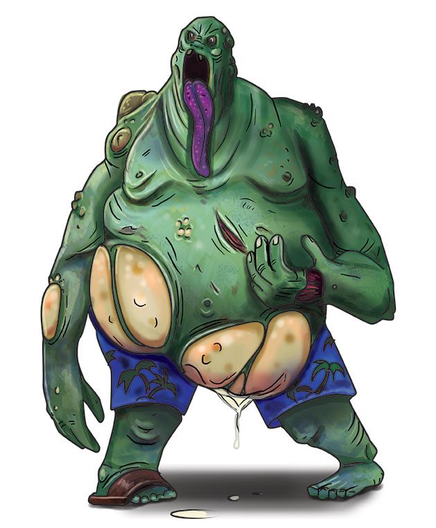 bloater zombie