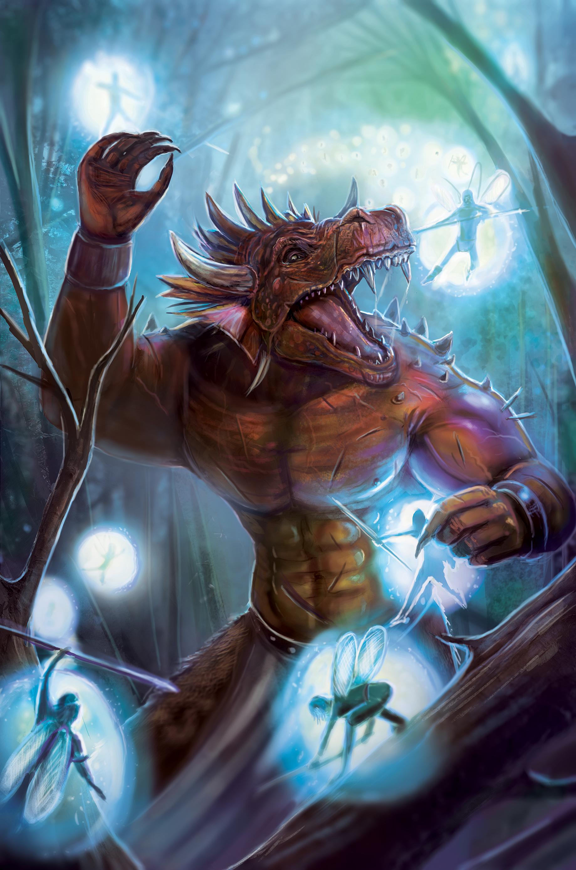 dragon warrior imps fairies fae