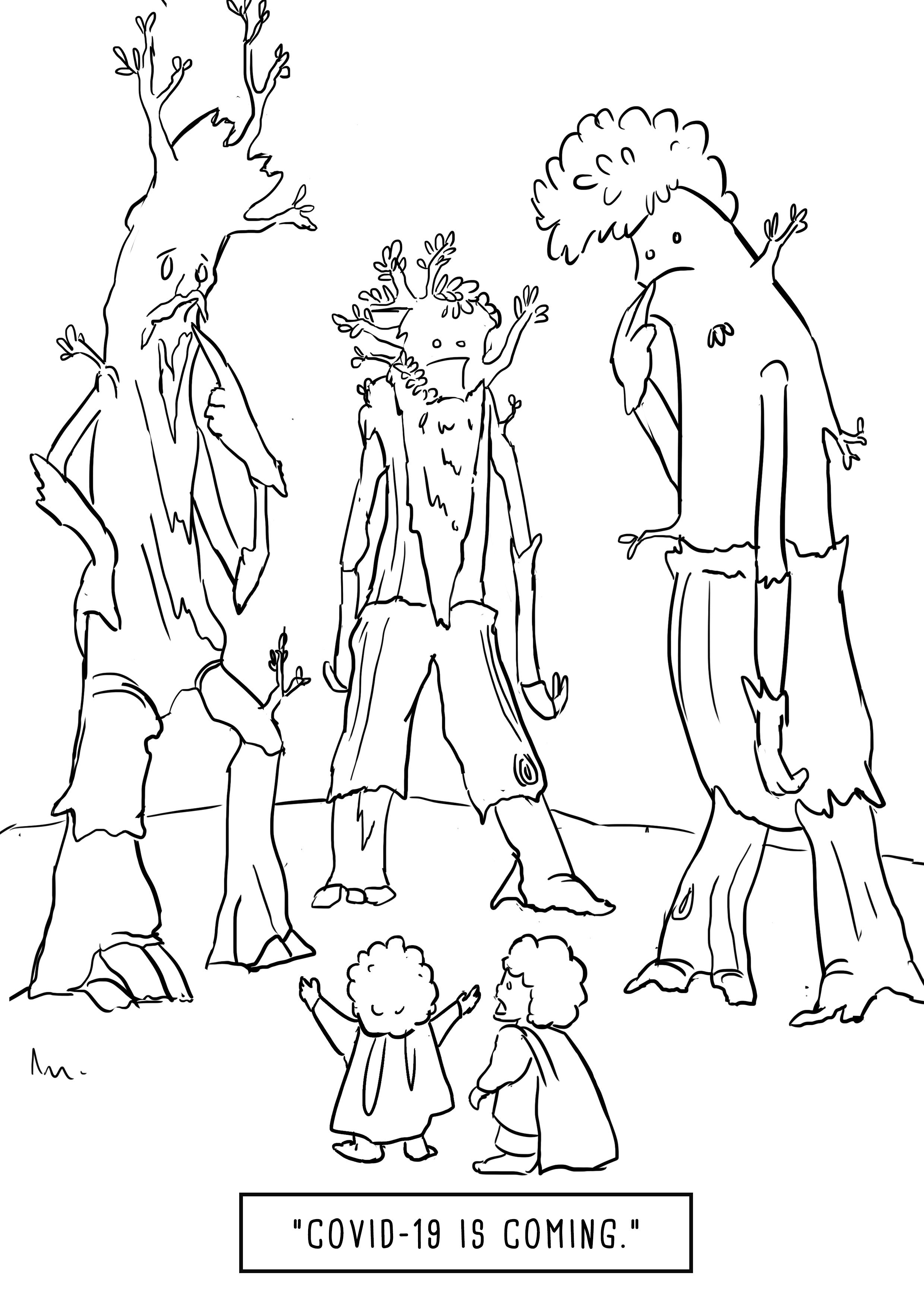 Ent Moot Corona Virus Covid 19 Hobbits