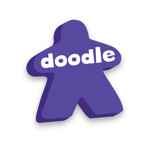 Doodlemeeple icon, collaborate and design board games