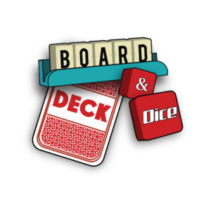 board game review logo by The Noble Artist