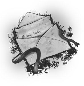 old fantasy letter sketch