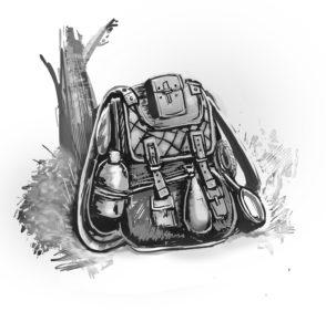 fantasy adventurer backpack